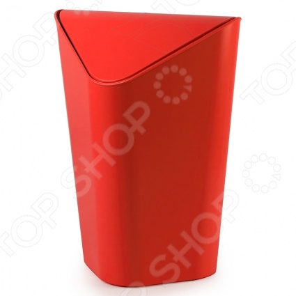 Корзина для мусора Umbra Corner идеально впишет в интерьер вашего дома или офиса. Ее секрет в форме. Она сделана таким образом, чтобы корзину можно было расположить в углу, где она будет занимать минимум места. Удобная качающаяся крышка обеспечит простоту и легкость в использовании. Umbra это компания, которая уже более 30 лет занимается производством оригинальных домашних аксессуаров. Сегодня Umbra признана в 118 странах мира, в том числе и в России, одним из лидеров в области оригинального, доступного и простого современного дизайна для дома и интерьера. Umbra создает и производит уникальные вещи превосходного качества для оформления интерьера гостиных, спален, кухонь и ванных комнат.