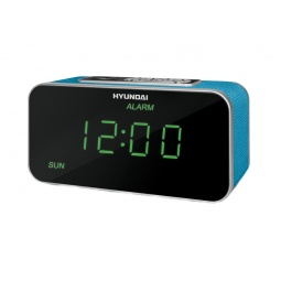 фото Радиобудильник Hyundai H-1503U. Цвет: синий