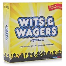 Купить Настольная игра Мосигра Держи пари (Wits & Wagers)