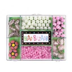 фото Набор для создания украшений Bead Bazaar «Розовое совершенство»