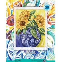 фото Набор для вышивания крестиком RTO «Солнечная мозаика»