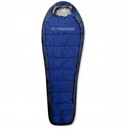 фото Спальный мешок Trimm Highlander. Цвет: синий. Расположение молнии: правостороннее