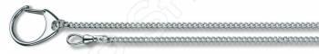Цепочка с кольцом для ключей и карабином Victorinox 4.1813 цепочка victorinox 4 1815 b1 серебристый 400мм d1 5мм блистер