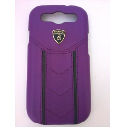 фото Чехол Lambordghini Cover Gallardo D2 для Samsung S3 I9300. Цвет: пурпурный