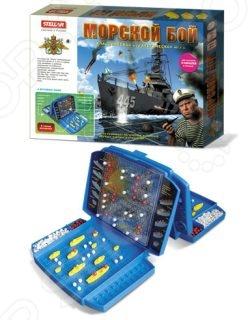 Дорожная игра Стеллар «Морской бой» 10384 настольная игра домино стеллар хорошие знакомые 9