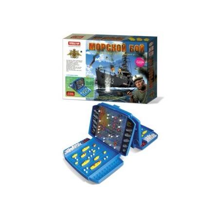 Купить Дорожная игра Стеллар «Морской бой» 10384