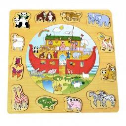 Купить Пазл деревянный ADEX «Ноев ковчег»