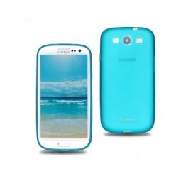 фото Чехол для Samsung Galaxy SIII i9300 Yoobao Glow Protect Case. Цвет: синий