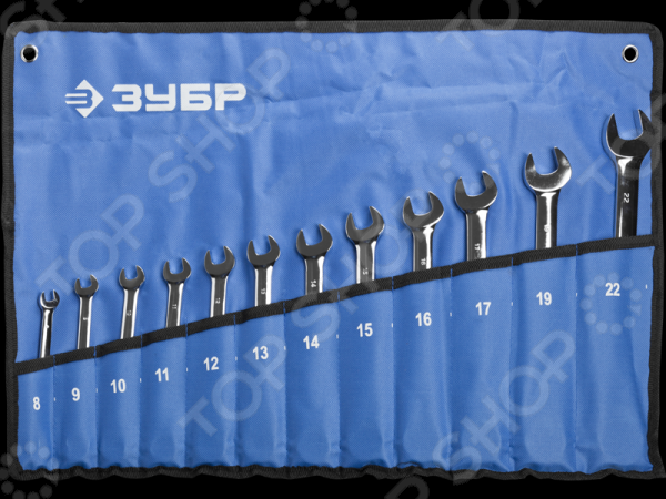 Набор ключей комбинированных Зубр «Профи» 27075-H12 набор ключей комбинированных зубр профи 27074 h6