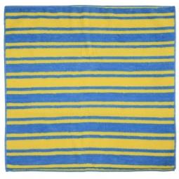 фото Салфетка для уборки Rainbow home «Разноцветная полоска». Цвет: голубой, желтый