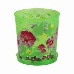 фото Горшок для орхидей Альтернатива. Цвет: зеленый. Объем: 1,8 л