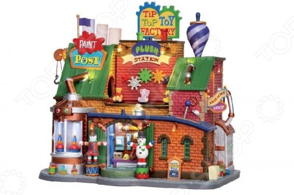 Домик керамический Lemax «Фабрика игрушек»