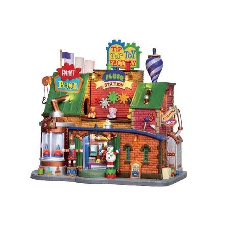 Купить Домик керамический Lemax «Фабрика игрушек»