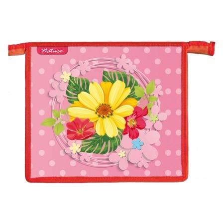 Купить Папка для тетрадей Проф-Пресс «Цветочная икебана»
