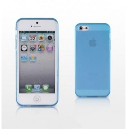 фото Чехол и пленка на экран для iPhone 5 Yoobao Protect Case. Цвет: голубой