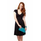 Фото Платье Mondigo 8597. Цвет: черный. Размер одежды: 42