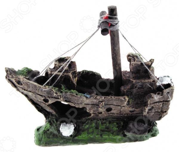Лодка для аквариума DEZZIE «Креветка» кардинал креветка мороженая 100г