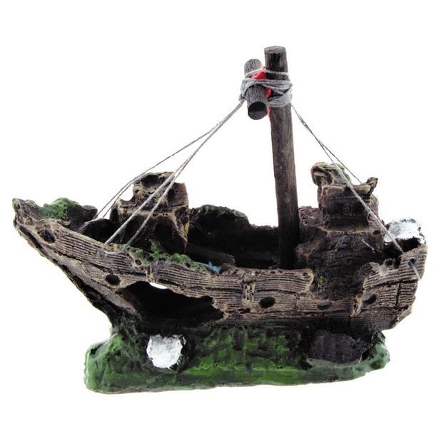 фото Лодка для аквариума DEZZIE «Креветка»