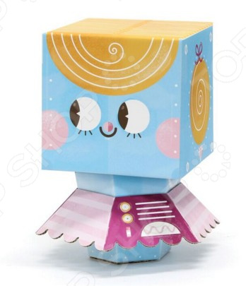 Фигурка сборная Krooom Fold My «Робот балерина»Игровые конструкторы<br>Фигурка сборная Krooom Fold My Робот балерина набор из деталей, с их помощью собирается игрушечная фигурка милого робота для детских игр. Балерина самая младшая в семье роботов. У нее есть секундомер, с помощью которого она засекает, сколько времени она может кружиться, не останавливаясь. Все детали легкие, крепкие и надежные, имеют водостойкое покрытие, безопасное для детей. Не содержат вредных веществ. Материал изготовления на 100 перерабатываемый.<br>