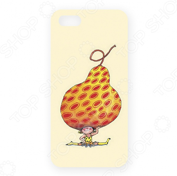 Чехол для iPhone 5 Mitya Veselkov «Девочка-груша»
