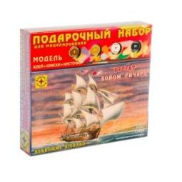 фото Подарочный набор морского судна Моделист фрегат «Боном Ричард»