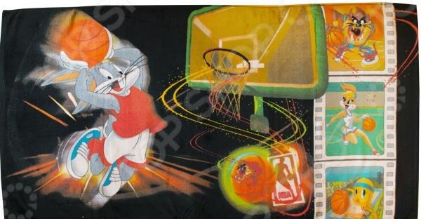 Полотенце махровое Мульткарнавал «Баскетболисты»