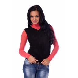 фото Жилет Mondigo 9007-02. Цвет: черный. Размер одежды: 42