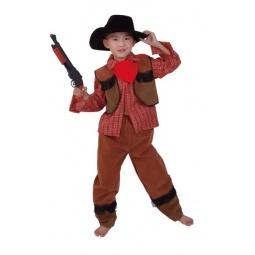 фото Костюм карнавальный для мальчика Новогодняя сказка «Ковбой»