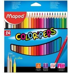 фото Набор цветных треугольных карандашей Maped 183224