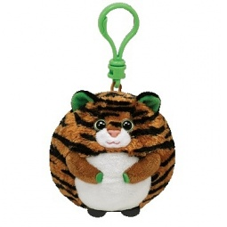 фото Мягкая игрушка с клипсой TY Тигр MONACO. Высота: 6,5 см