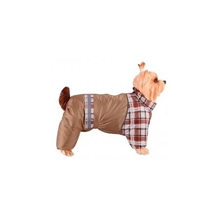 Купить Комбинезон-дождевик для собак DEZZIE «Американский кокер». Цвет: бежевый