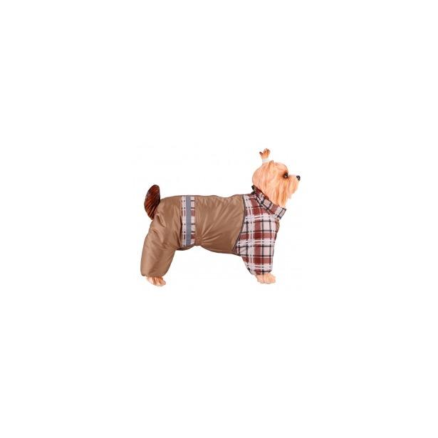 фото Комбинезон-дождевик для собак DEZZIE «Американский кокер». Цвет: бежевый. Материал подкладки: синтепон. Пол: кобель