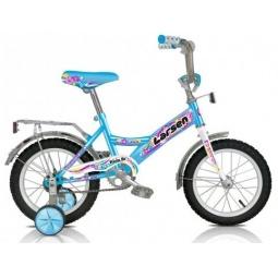 фото Велосипед Larsen Kids 14. Цвет: голубой
