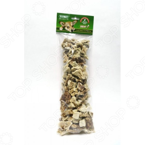 Лакомство для собак TiTBiT 9373 «Легкое говяжье XXL»
