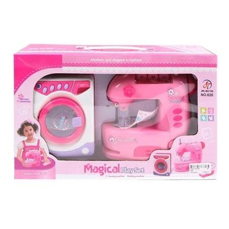 Купить Игровой набор для девочки Shantou Gepai «Стиральная и швейная машины» 626