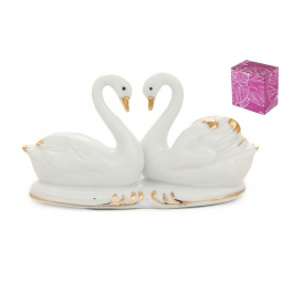 Купить Фигурка декоративная Elan Gallery Белые лебеди 330341