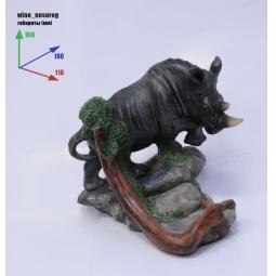 Купить Подставка для вина Drivemotion «Носорог»