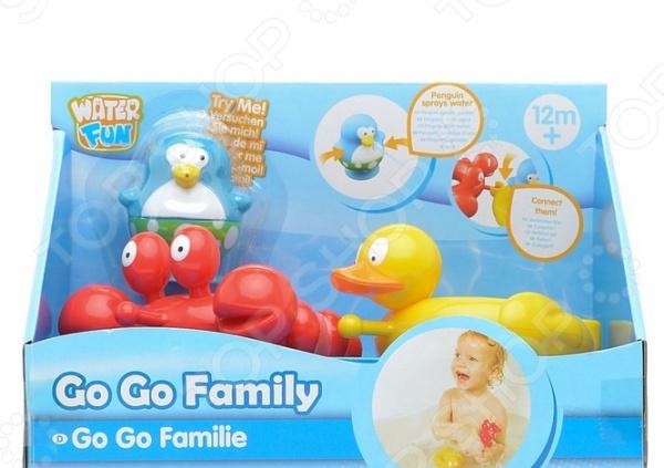 Набор для ванны Toy Target «Веселые друзья: утка и краб»
