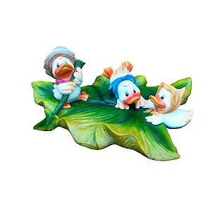 Купить Фигурка садовая плавающая GREEN APPLE GRWD3-19 «Утята 1»