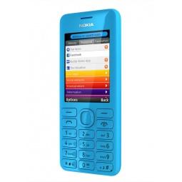 фото Мобильный телефон Nokia 206 Dual Sim. Цвет: голубой