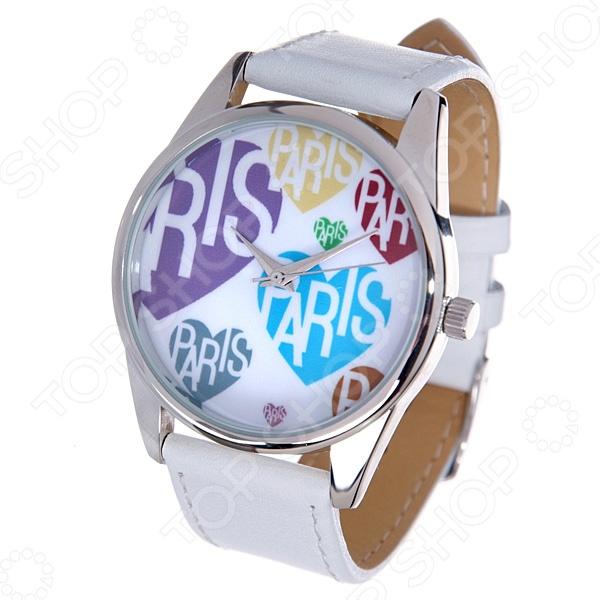 Часы наручные Mitya Veselkov «Париж и цветное сердце»