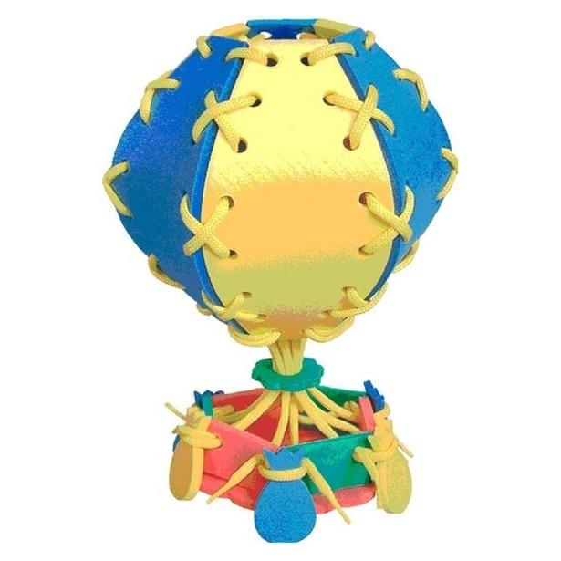 фото Игра развивающая для малыша Флексика «Шнуровка. Воздушный шар»