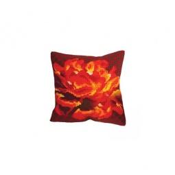 Купить Набор для вышивания подушки Collection D'art 5106