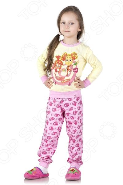 Пижама для девочки «Фиксики среди нас: Симка  Шпуля»