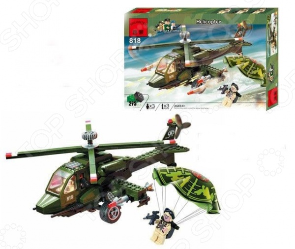 Конструктор игровой Brick Helicopter walkera gear puller rc helicopter tools free shipping with tracking