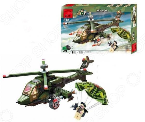 Конструктор игровой Brick Helicopter конструктор brick вертолет 818