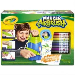 Купить Набор фломастеров с распылителем Crayola «Marker Airbrush»