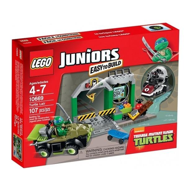 фото Конструктор LEGO Логово черепашек