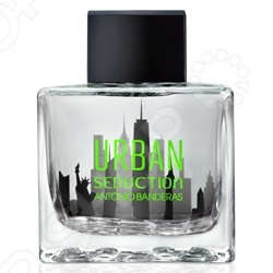 Туалетная вода для мужчин Antonio Banderas Urban Seduction in Black, 100 мл antonio banderas seduction in black splash 100 ml