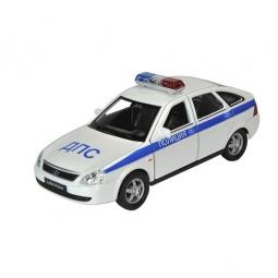 Купить Модель автомобиля 1:34-39 Welly LADA PRIORA. Полиция